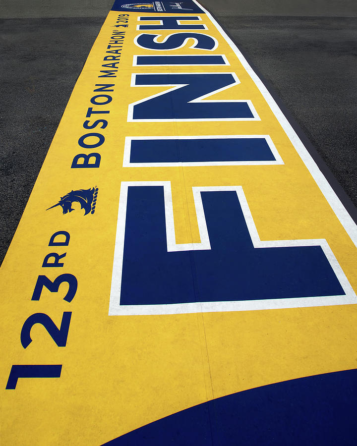 2019 Boston Marathon Finish Line by Joann Vitali