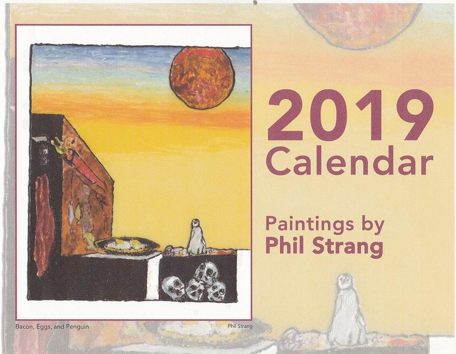 2019 calendar cover by Phil Strang
