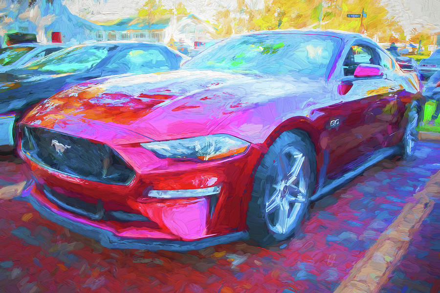 2019 Ford Mustang GT 5.0 001 by Rich Franco