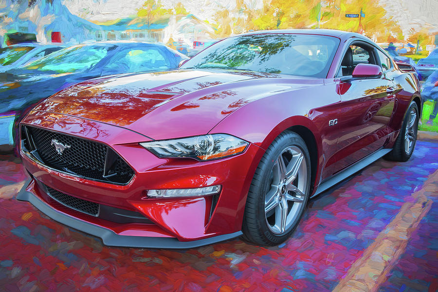 2019 Ford Mustang GT 5.0 002 by Rich Franco
