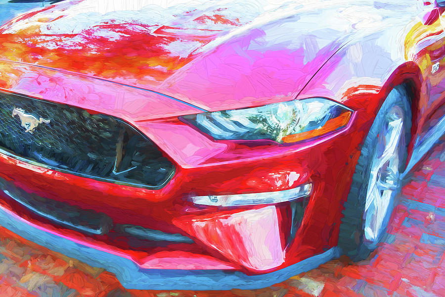 2019 Ford Mustang GT 5.0 004 by Rich Franco