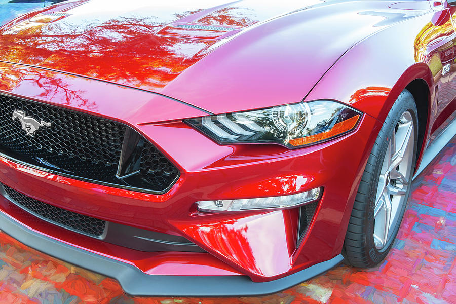 2019 Ford Mustang GT 5.0  005 by Rich Franco