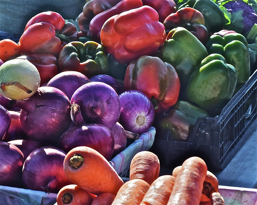 2019 Monona Farmers' Market Season's End Harvest by Janis Nussbaum Senungetuk