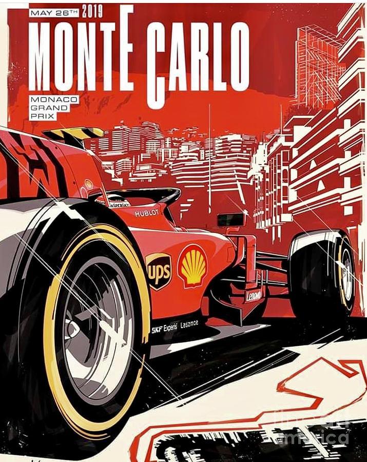 2019 Monte Carlo Grand Prix Promo