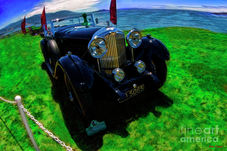 2019 Pebble Concours Best Of Show 1931 Bentley 8 Liter by Blake Richards