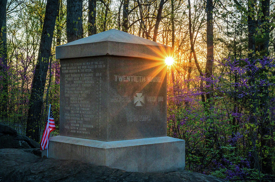 20th Maine Sunrise by Dan Urban