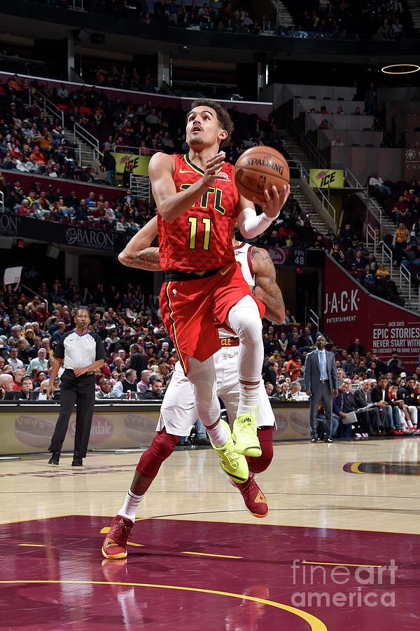 Atlanta Hawks V Cleveland Cavaliers Photograph by David Liam Kyle