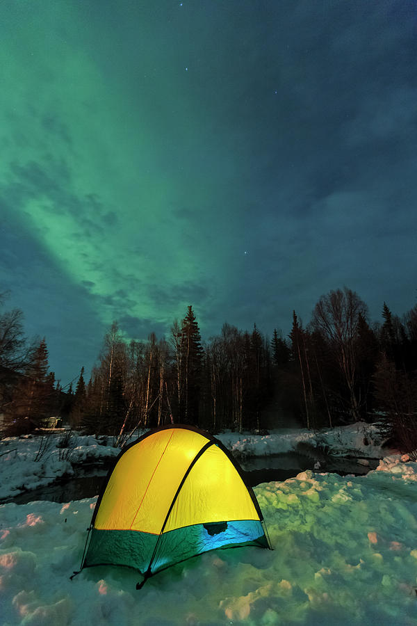 Alaska Photograph - Aurora Borealis, Northern Lights by Stuart Westmorland