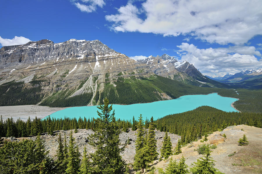 Agua Photograph - Canada, Alberta, Banff National Park 21 by Jaynes Gallery