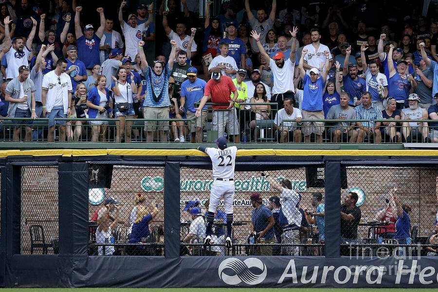 Chicago Cubs V Milwaukee Brewers Photograph by Dylan Buell