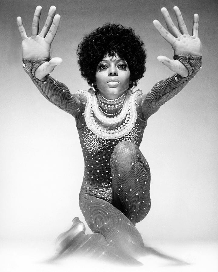 Diana Ross Portrait Session 21 Photograph by Harry Langdon