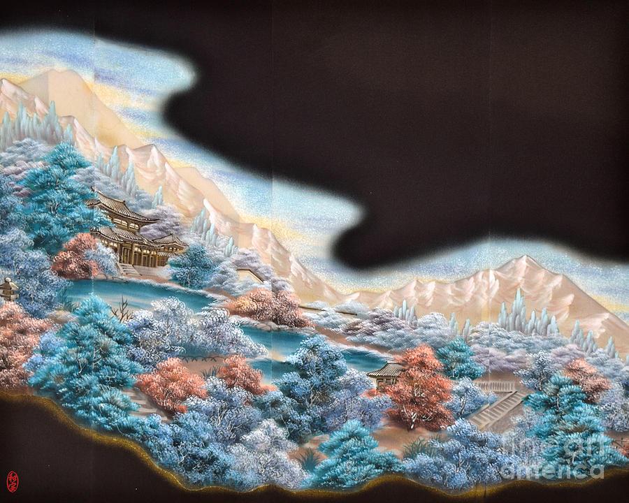 Spirit of Japan T63 Digital Art by Miho Kanamori