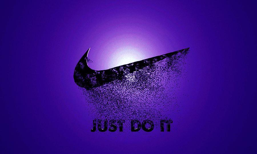 40246a1b7 Nike Logo Digital Art by Samuel Bentley