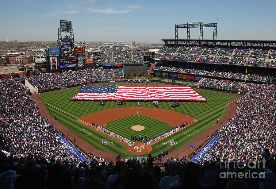 San Francisco Giants V Colorado Rockies 22 Photograph by Doug Pensinger