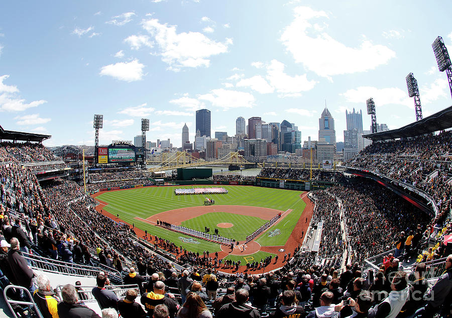 St Louis Cardinals V Pittsburgh Pirates Photograph by Justin K. Aller