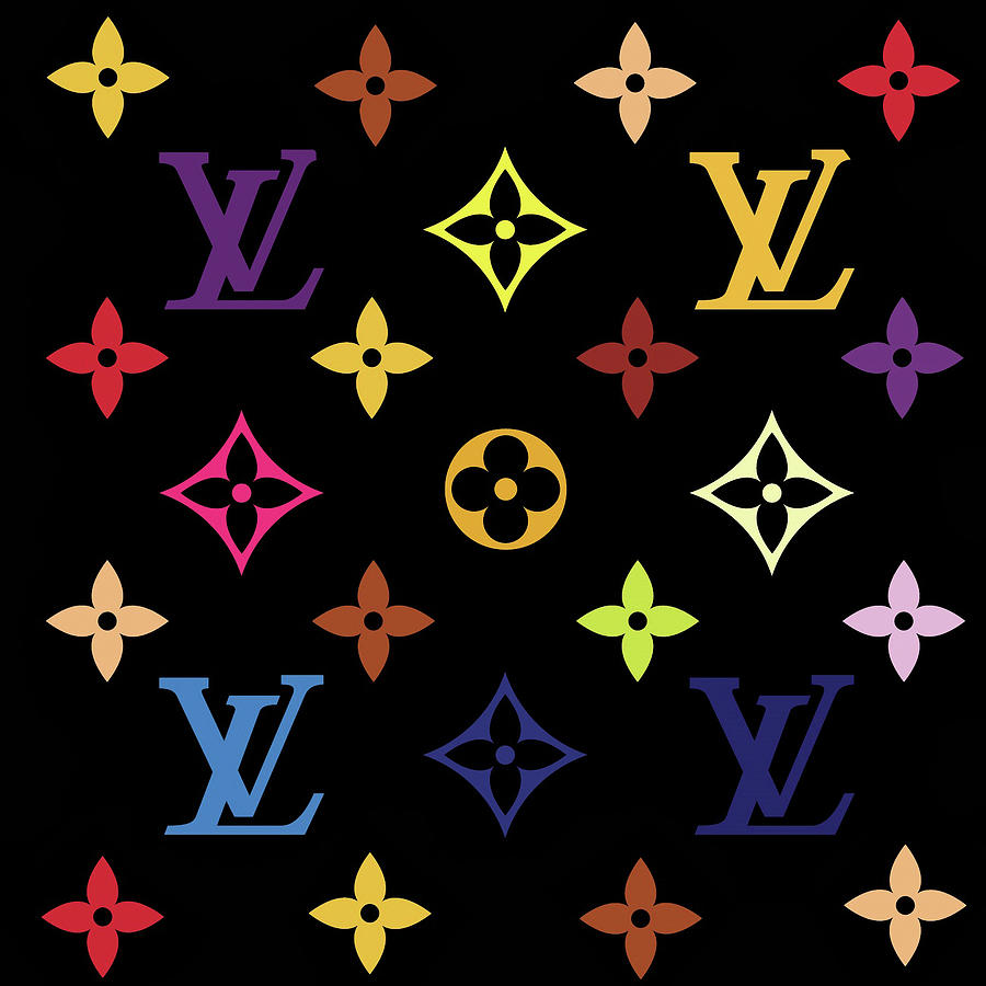Louis Vuitton. Logo Digital Art by Travis Dehart