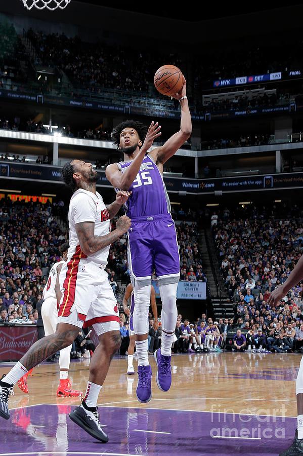 Miami Heat V Sacramento Kings Photograph by Rocky Widner