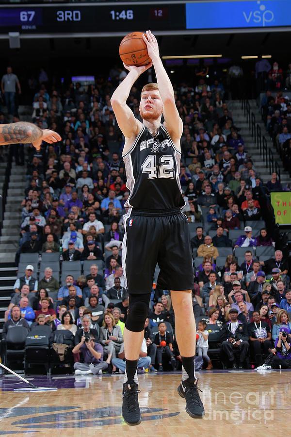 San Antonio Spurs V Sacramento Kings Photograph by Rocky Widner