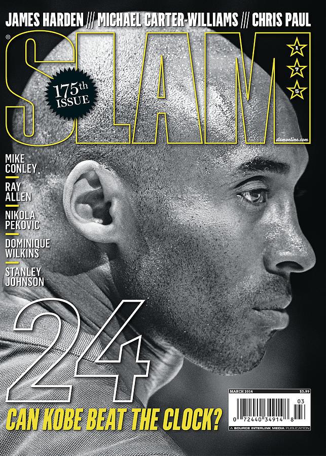 24: Can Kobe Beat the Clock? SLAM Cover Photograph by Atiba Jefferson