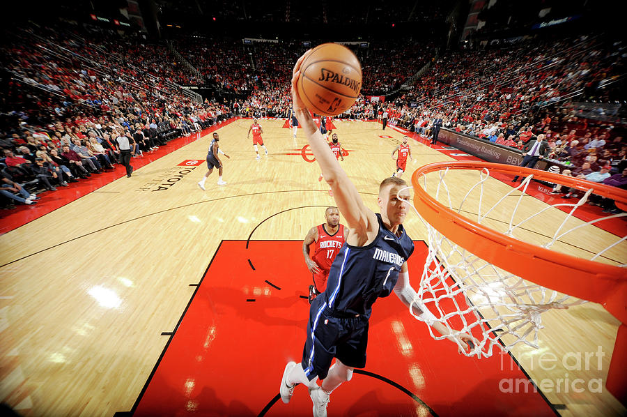 Dallas Mavericks V Houston Rockets Photograph by Bill Baptist