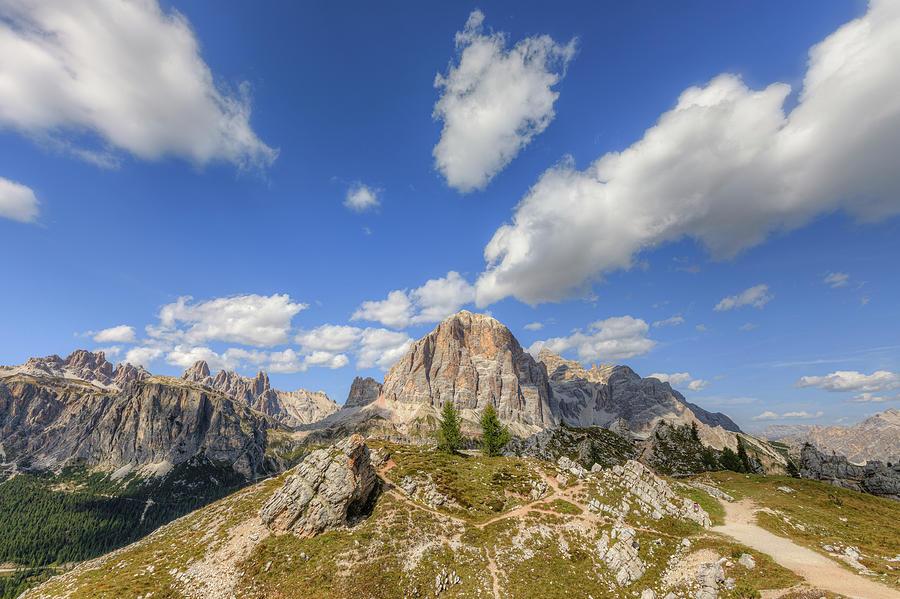 Cinque Torri Photograph - Cinque Torri, Dolomites - Italy 25 by Joana Kruse