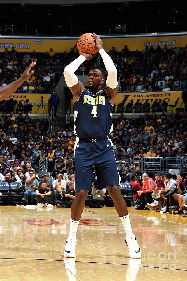 Denver Nuggets V Los Angeles Lakers Photograph by Andrew D. Bernstein