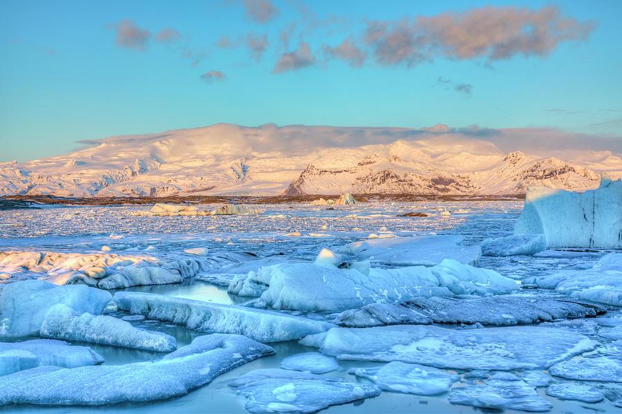 Jokulsarlon Photograph - Jokulsarlon - Iceland by Joana Kruse