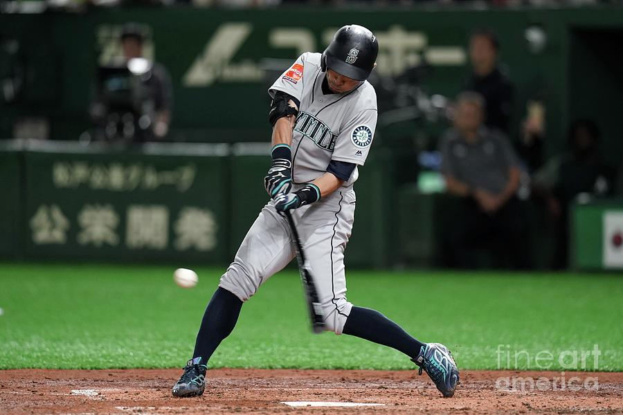 Seattle Mariners V Oakland Athletics 25 Photograph by Masterpress