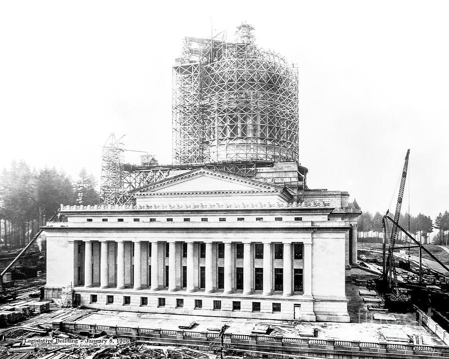 CONSTRUCTION OF THE LEGISLATIVE BUILDING by Joe McKnight