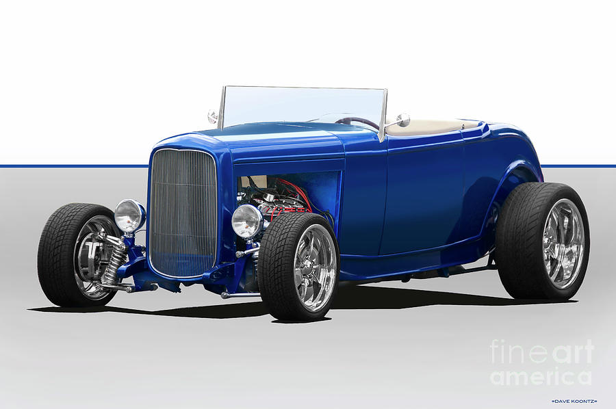 1932 Ford Hiboy Roadster Photograph By Dave Koontz