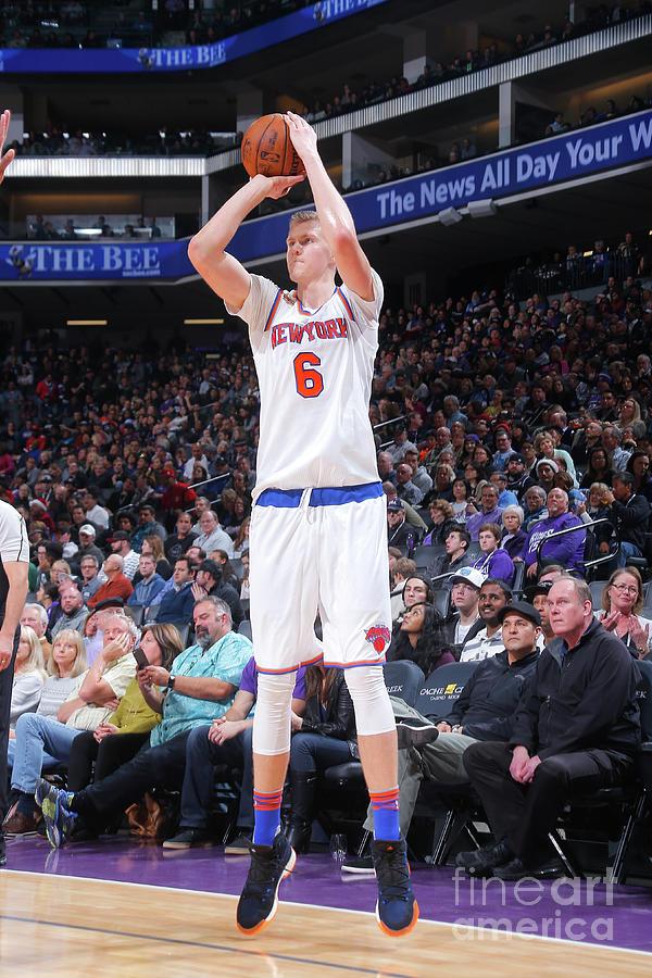 New York Knicks V Sacramento Kings Photograph by Rocky Widner