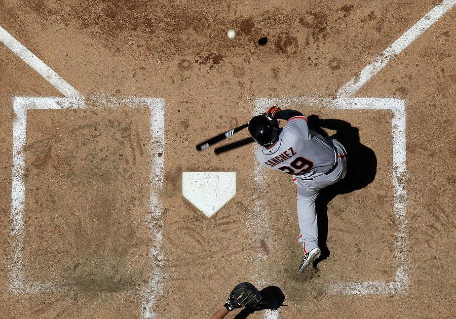 San Francisco Giants V Arizona Photograph by Christian Petersen