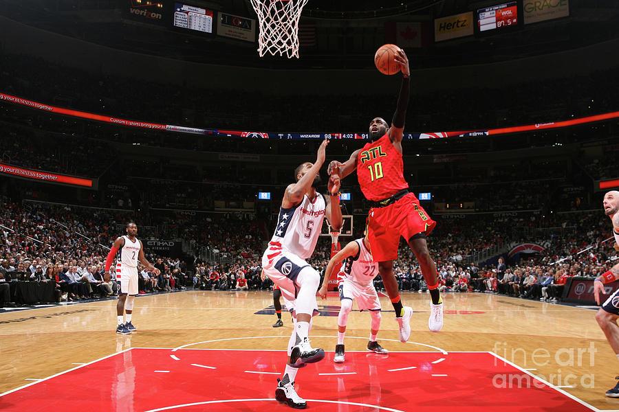 Atlanta Hawks V Washington Wizards - Photograph by Ned Dishman