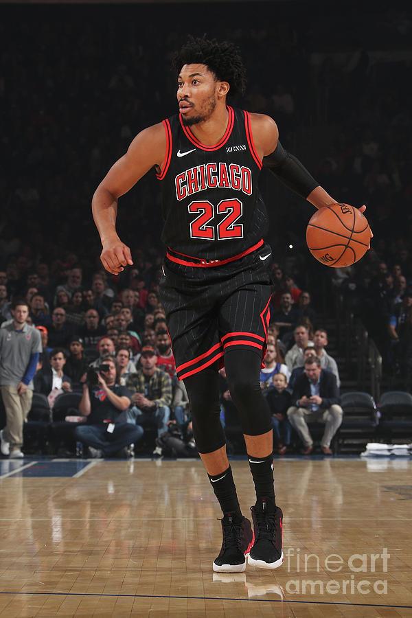 Chicago Bulls V New York Knicks Photograph by Nathaniel S. Butler