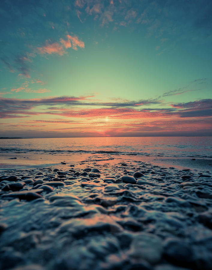 Beach Photograph - Lake Erie Sunset by Dave Niedbala