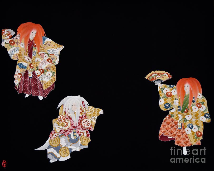 Spirit of Japan T59 Tapestry - Textile by Miho Kanamori