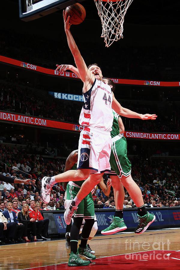 Boston Celtics V Washington Wizards - Photograph by Ned Dishman
