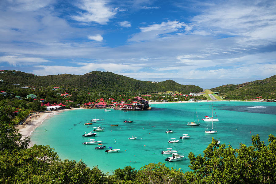 Bay Photograph - French West Indies, St-barthelemy by Walter Bibikow