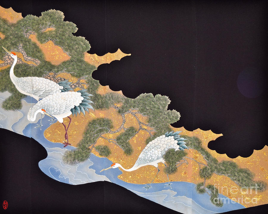Spirit of Japan T57 Tapestry - Textile by Miho Kanamori