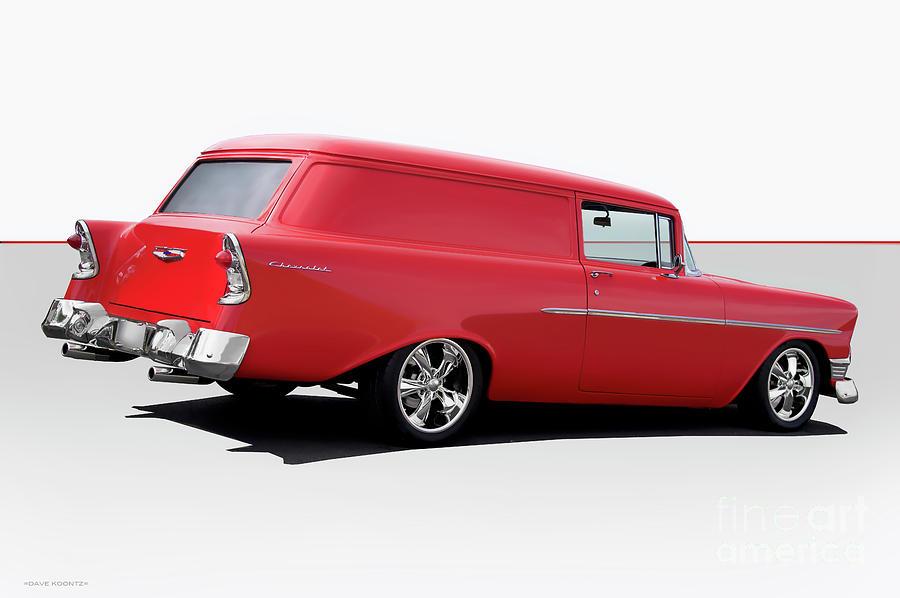 1956 Chevrolet Sedan Delivery by Dave Koontz