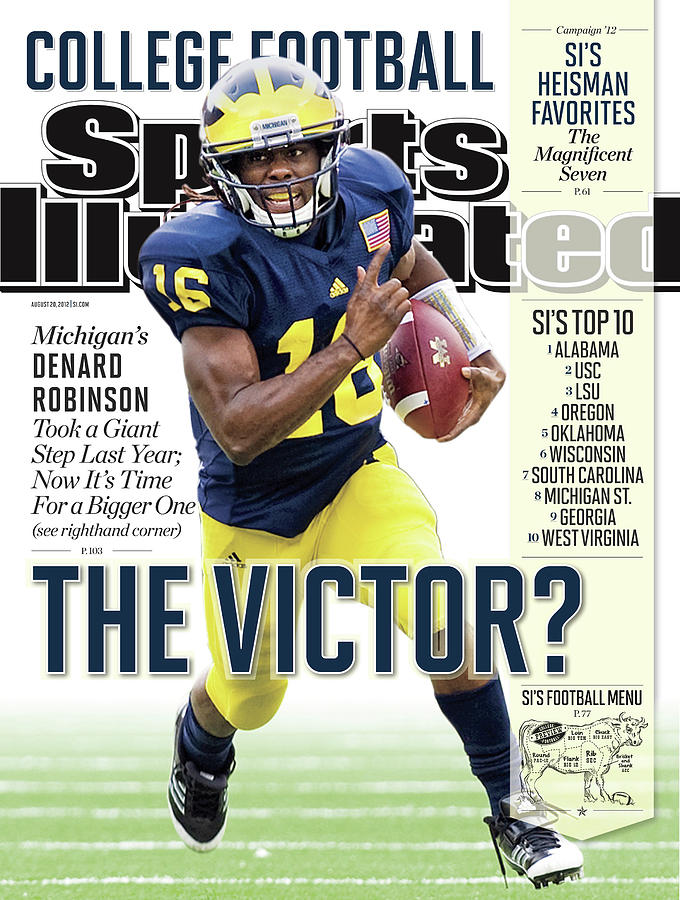 2012 College Football Preview Issue Sports Illustrated Cover Photograph by Sports Illustrated