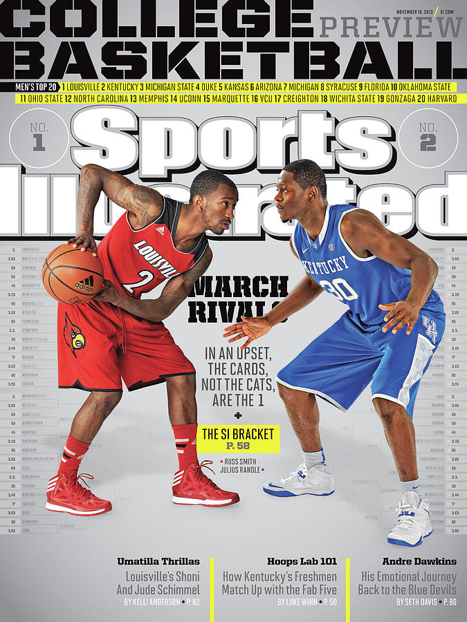 2013-14 College Basketball Preview Issue Sports Illustrated Cover Photograph by Sports Illustrated
