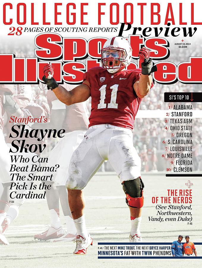 2013 College Football Preview Issue Sports Illustrated Cover Photograph by Sports Illustrated