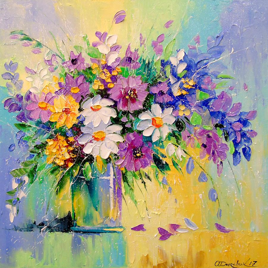 A bouquet of flowers painting by olha darchuk a bouquet of flowers painting a bouquet of flowers by olha darchuk izmirmasajfo