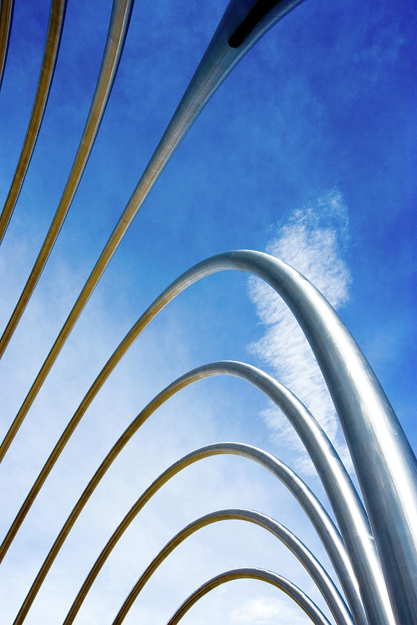 Abstract Metal Pipes Photograph by Duncan1890