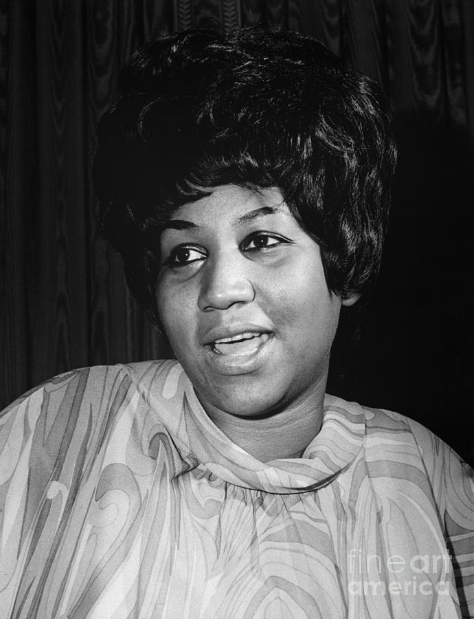 Aretha Franklin Photograph by Bettmann