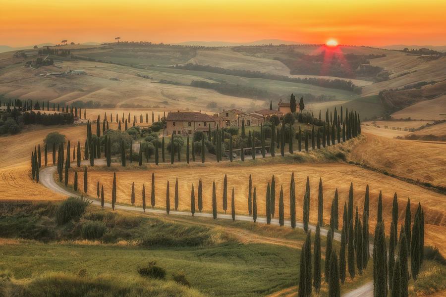 Asciano Photograph - Asciano, Tuscany - Italy 3 by Joana Kruse