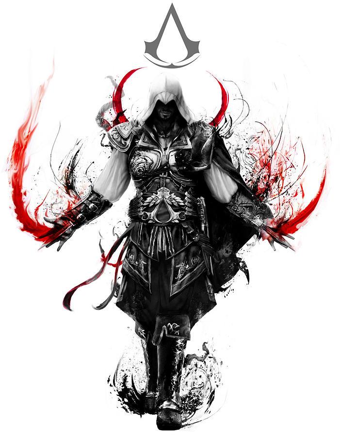 Assassins Creed Digital Art By Geek N Rock