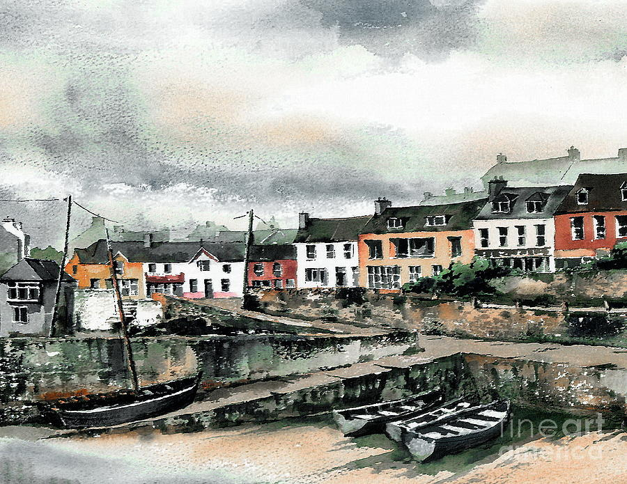 Baltimore Harbour, West Cork by Val Byrne