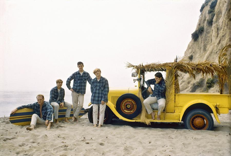 Beach Boys At The Beach Photograph by Michael Ochs Archives